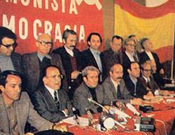 Carrillo en la transición española